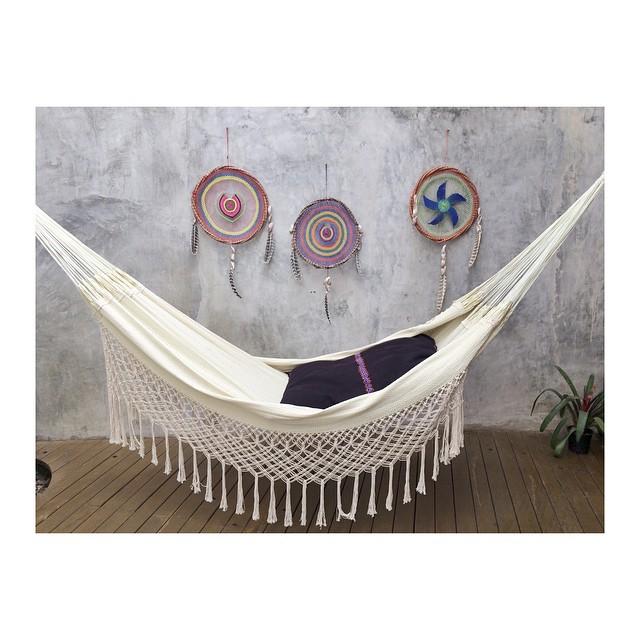 #peace #dreamcatcher #relax #hammock #Sayulita