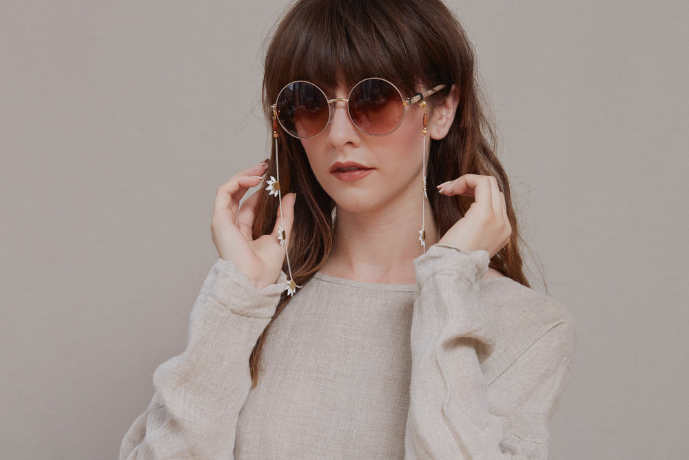 aeea7a907e4 Pantai glasses chain — This Ilk - Vintage lace statement jewelry
