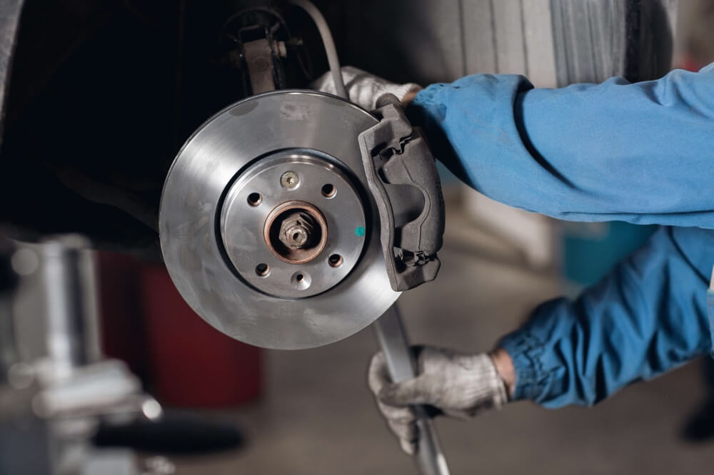 BMW-brake-pad-repair-service-maintenance-San-Diego