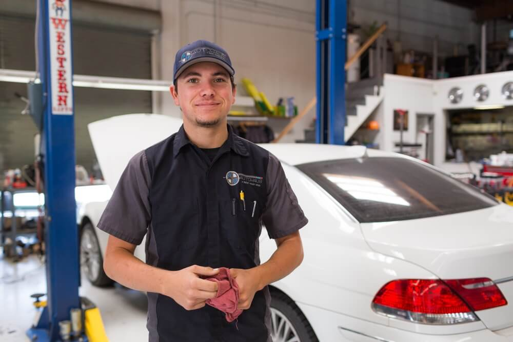 Scheduled repairs and service for BMWs in San Diego.