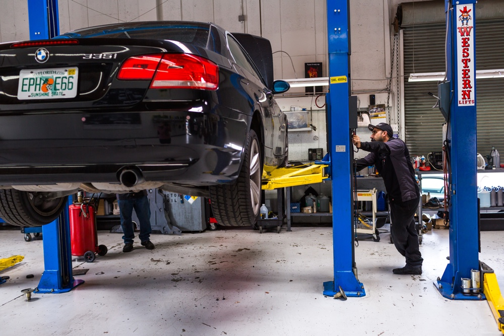 BMW Repair Services in San Diego at B and B Autohaus