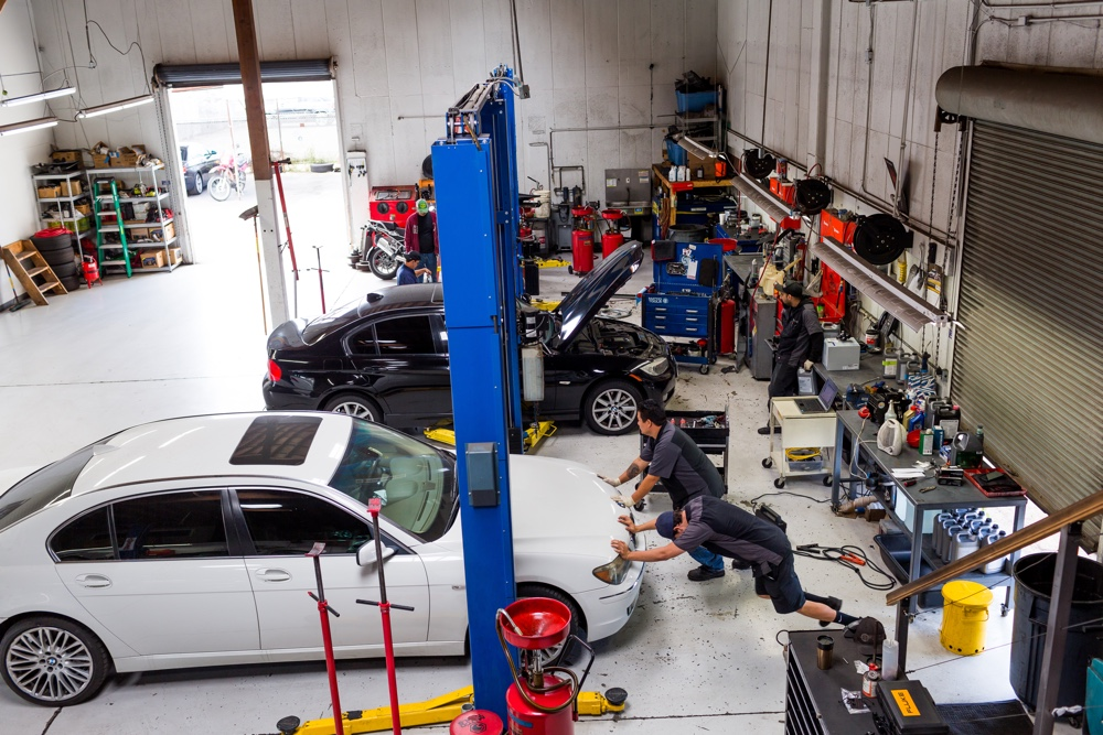 BMW Oil Change at B and B Autohaus San Diego