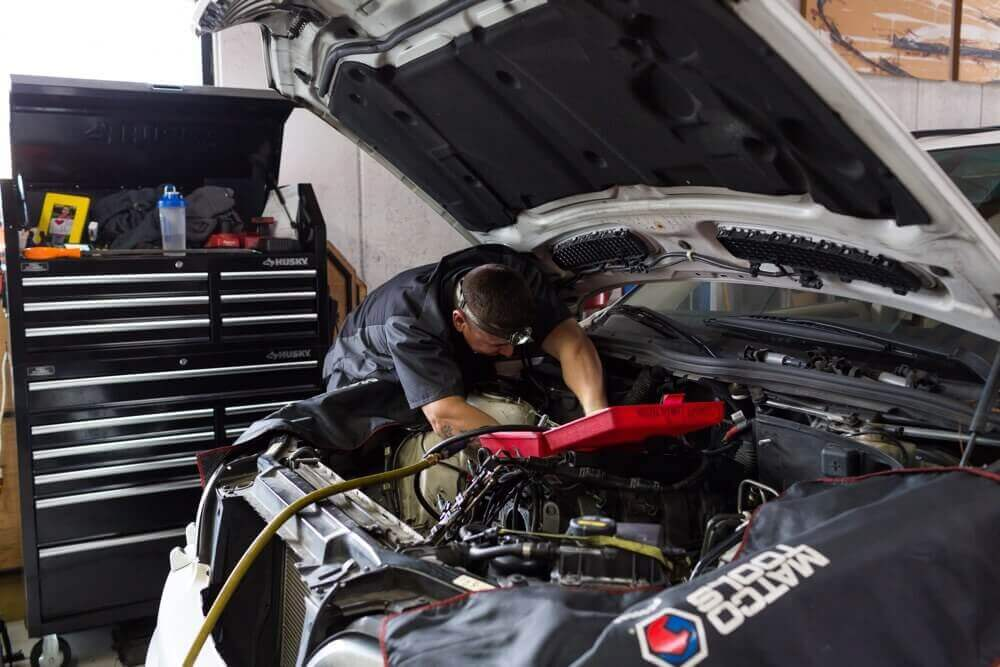 San Diego BMW Coolant Hose Replacement.