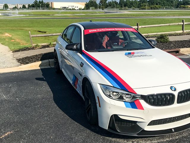 We got some learning done recently at the BMW Performance Center in Spartanburg, SC! Nothing like tearing up the track in somebody else's M3! #M3 #BMW #BMWPerformanceCenter #F30