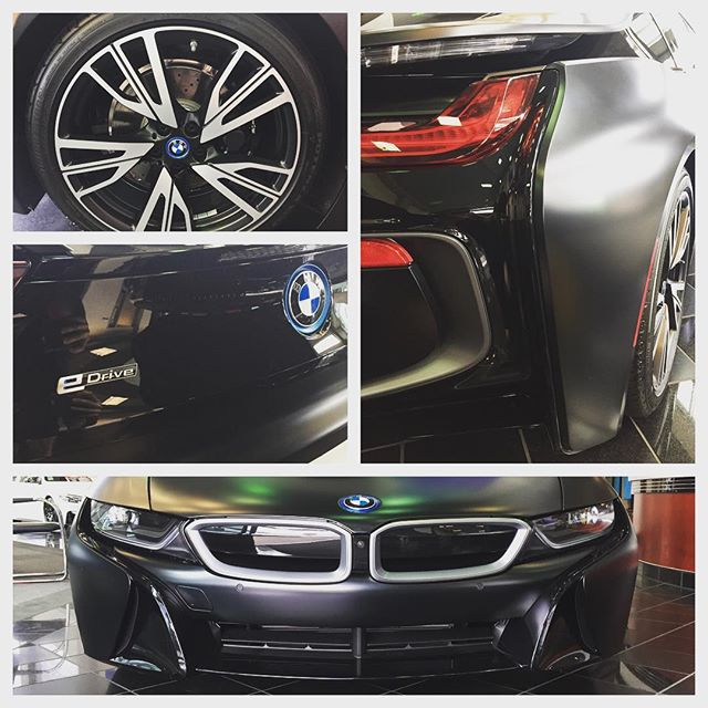 Stop by to see our friends today at @bmwsandiego and ran into this beauty #i8 #bmw #sandiego