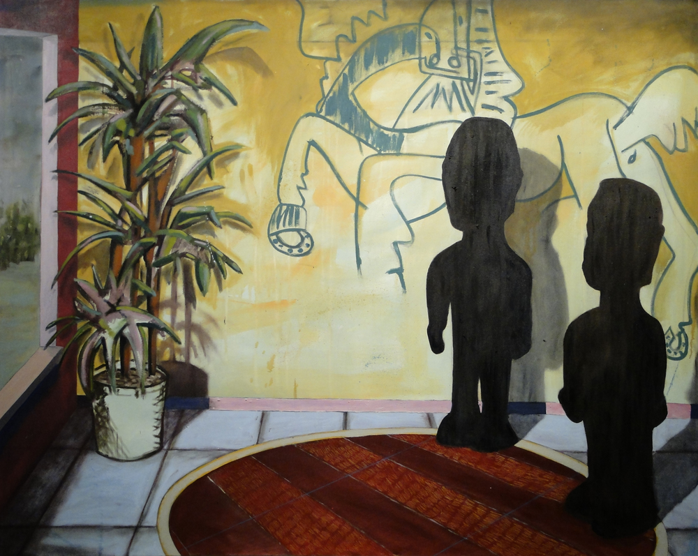 Africa, Picasso, Hockney