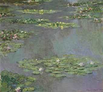 Claude Monet - Nympheas Water Lilies 1905