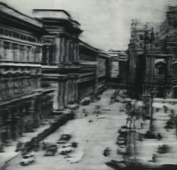 Gerhard Richter - Domplatz 1968