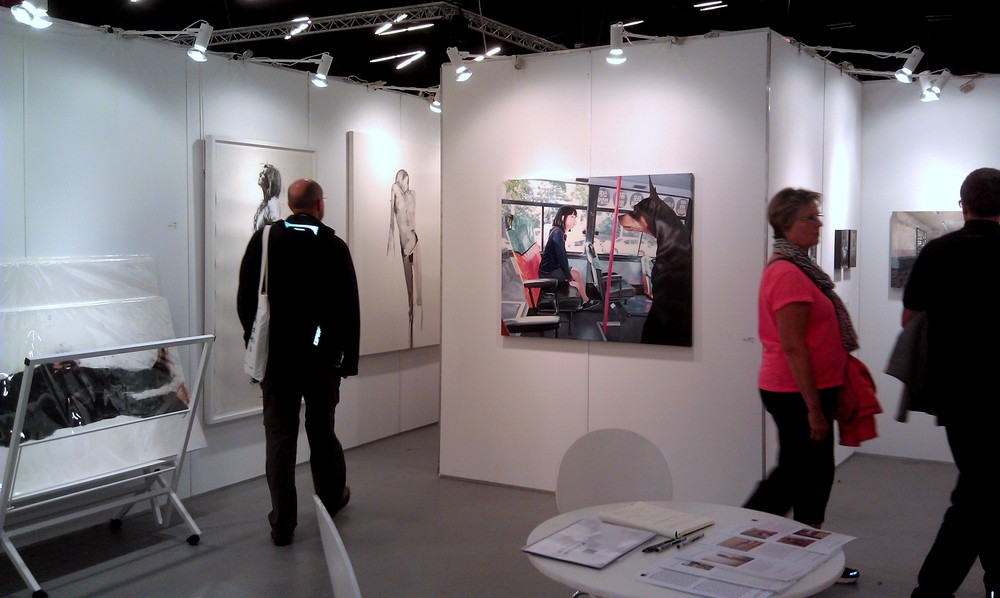 Art Copenhagen 2013 - Shine Artists London Booth