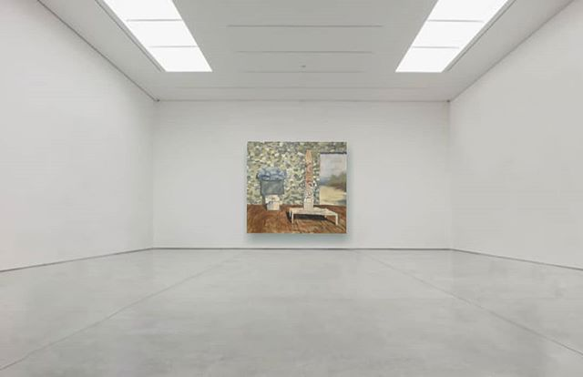 In case someone with a big white cube gallery was curious how this painting would look in their space...well here ya go. And your welcome. #mockup #whitecube #whynot #whitewalls #notforsale #lookinggood #contemporaryartgallery