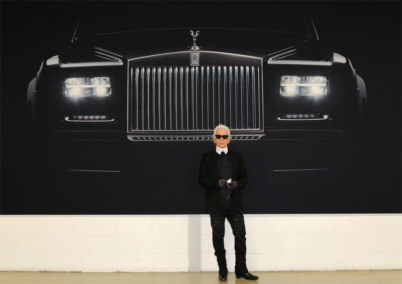 Imágenes de Rolls-Royce por Karl Lagerfeld