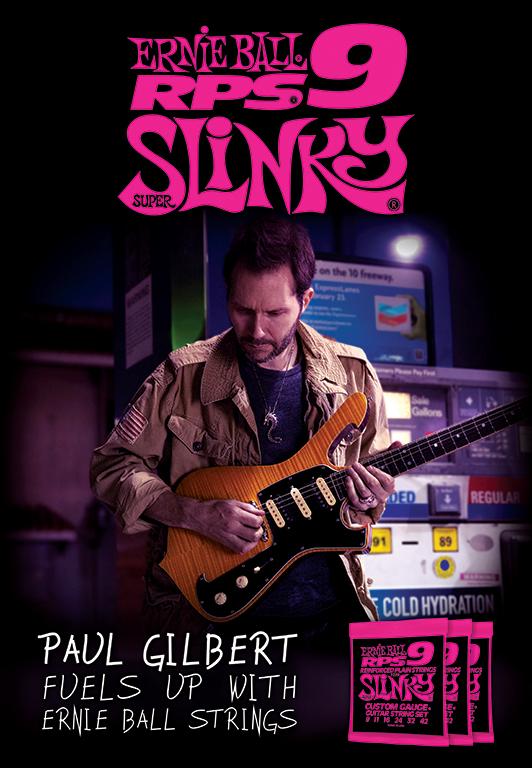 Paul Gilbert Poster