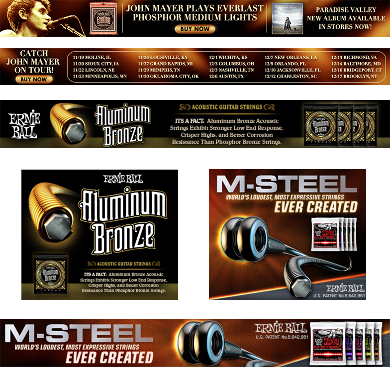 Various Web Banners