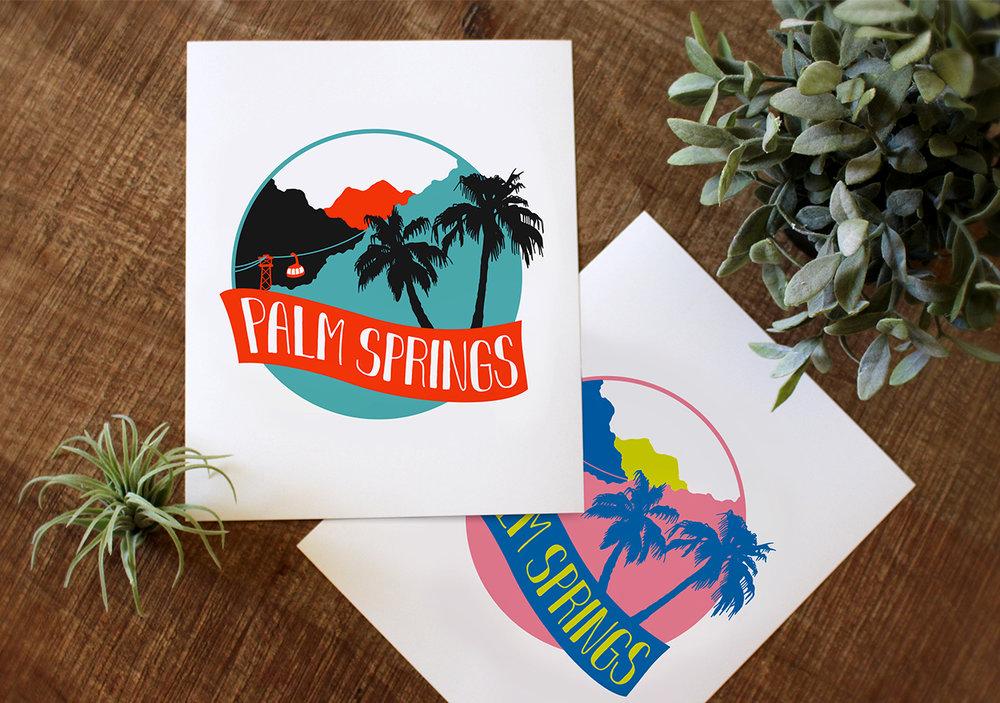Palm Springs Retro Print