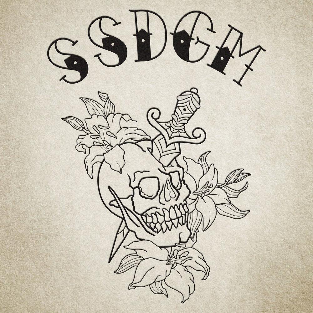 SSDGM Lettering