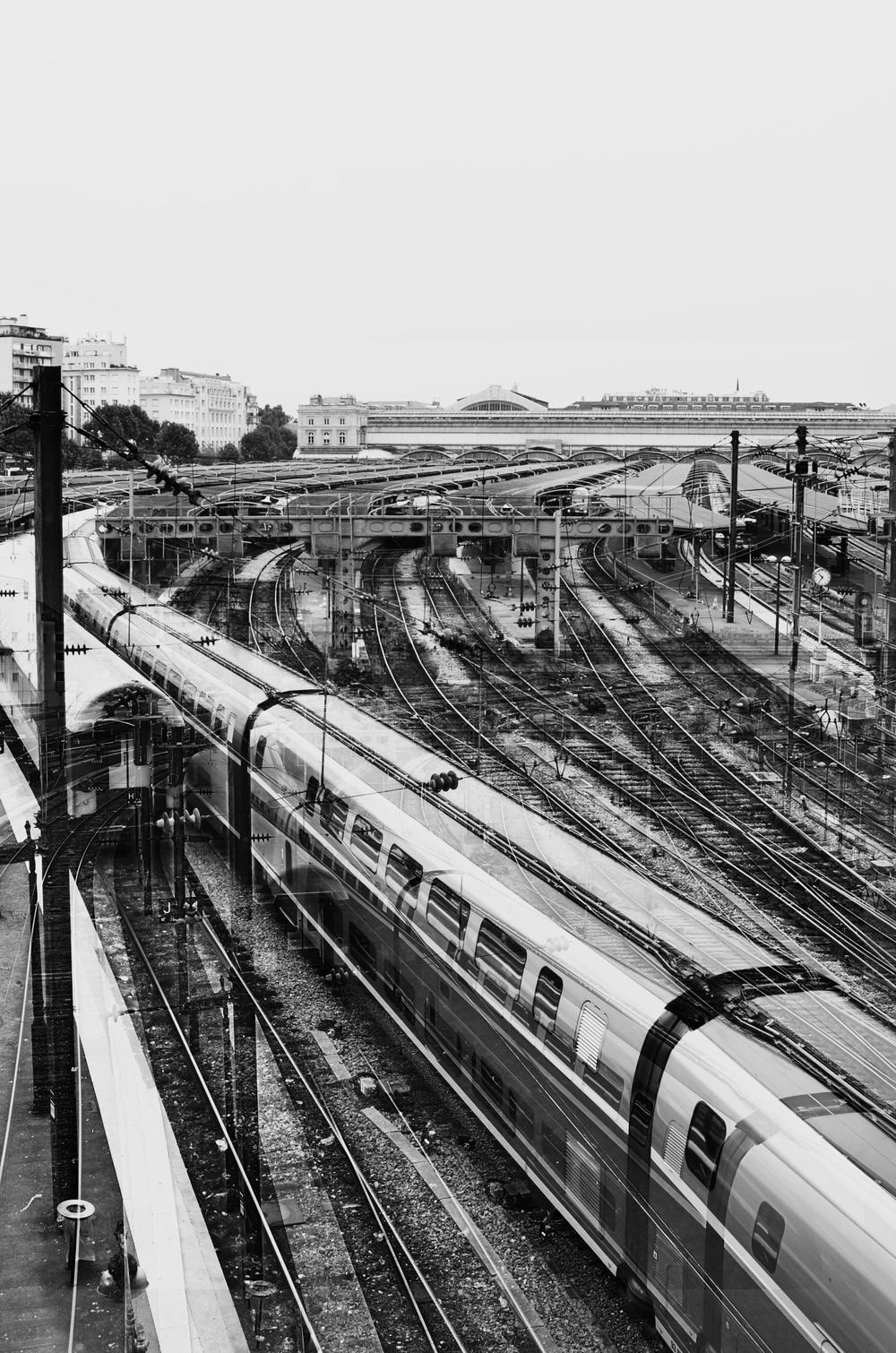 tracks ontracks at gare du nord