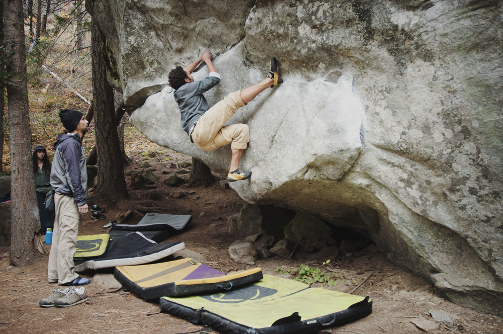 "Fun Fact: In Bouldering routes are known as ""Problems"""