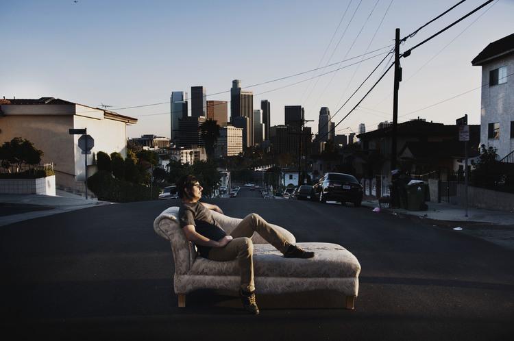 Los Angeles:Sunrise Over Sunset