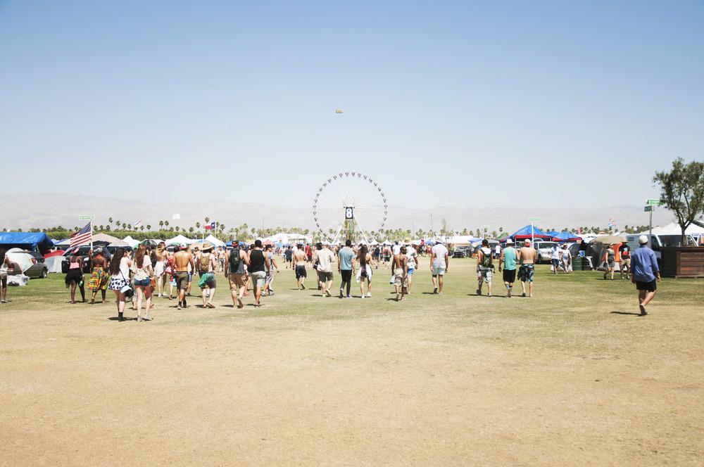 Coachella Music Festival - Main Street