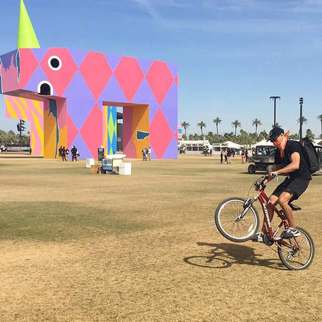 Yeehaw mother fuckers! #emptycoachella