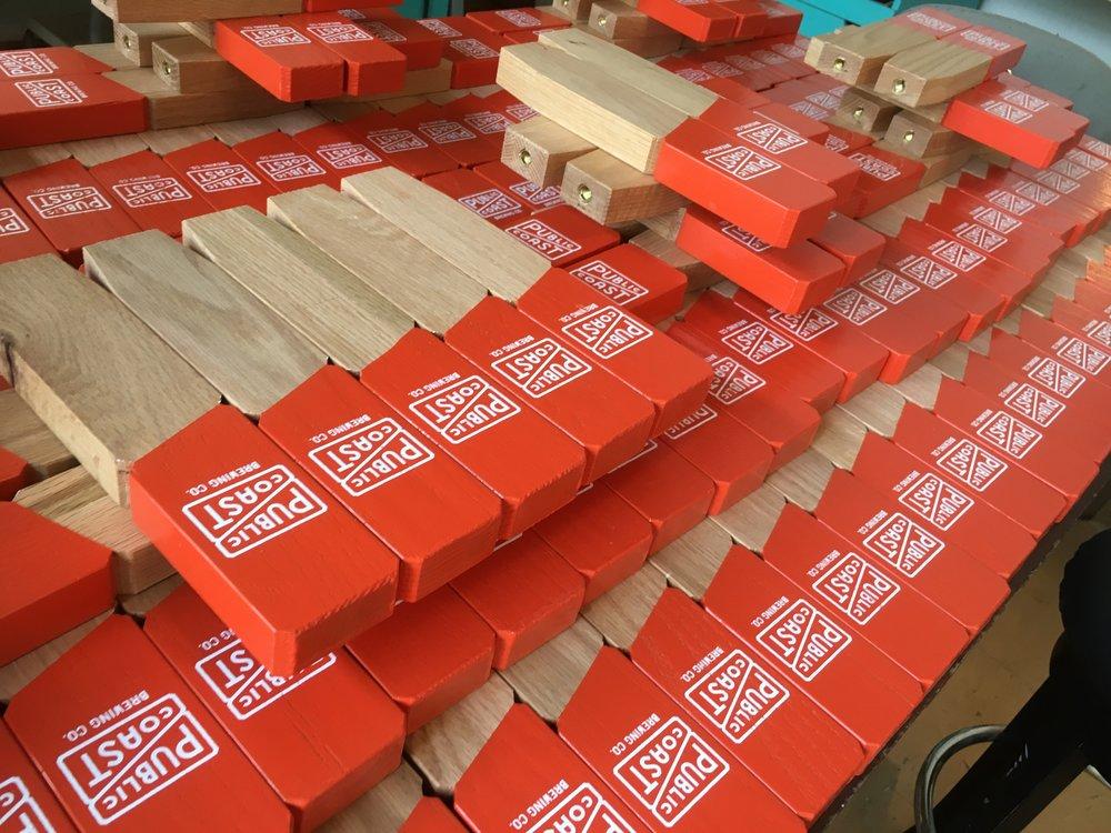 Public Coast Tap Handles - CNC & custom fabrication