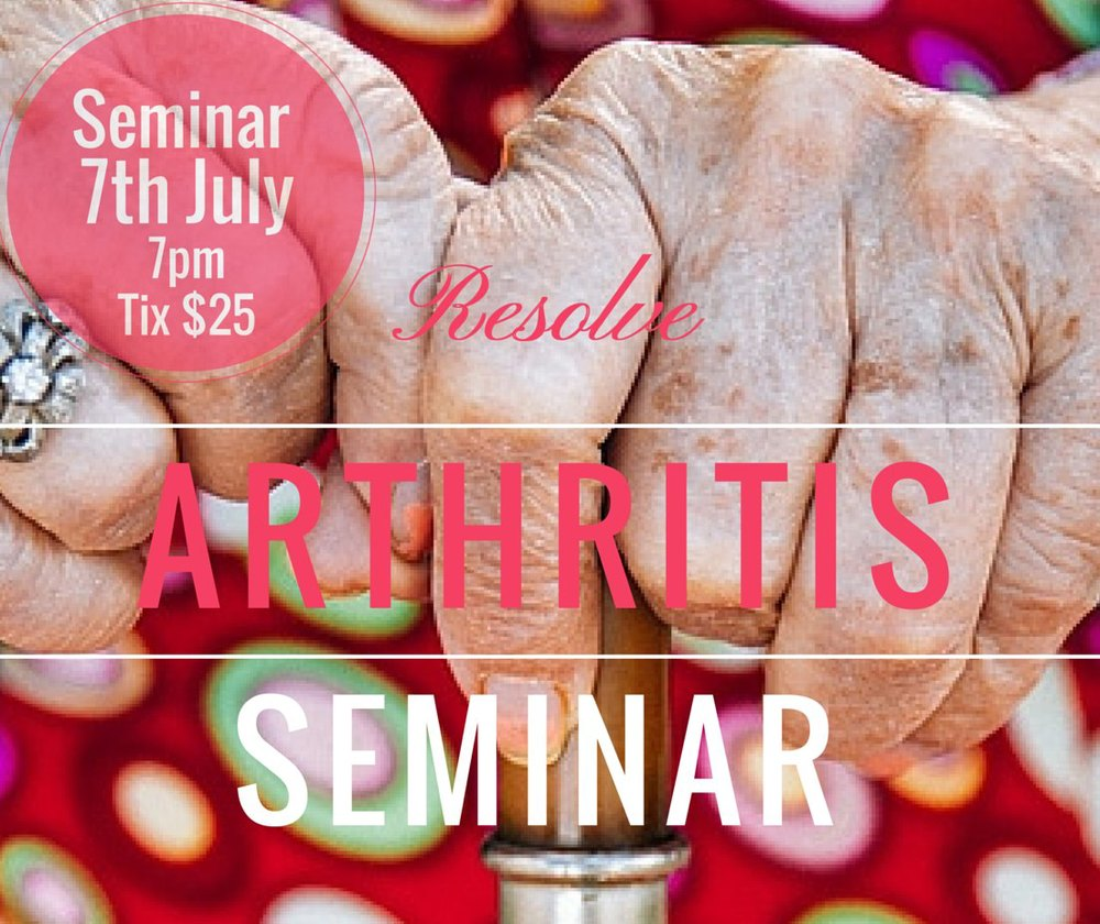 Arthritis Seminar Canberra
