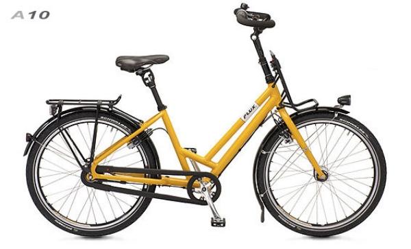 """Flux  Aufrechtrad A 10 ein Rad des Liegeradpioniers """"CUM"""" Mischner, handgefertigt in Gröbenzell bei München, tolles Rad aufrechtes Sitzen ist es trotzdem schnell und sportlich zu fahren - ohne Unsicherheiten beiGepäckzuladung oder in den Kurven... Der weiß halt wie - und hier könnte es ausprobiert werden...."""
