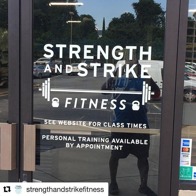 #Repost @strengthandstrikefitness with ・・・ We all official up in here!!!! #WelcomeHome #WeFamily #ShowUp #KickAssTakeNames #MakingAthensStronger