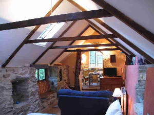 Self Catering Cottage Pembrokeshire - Living Room