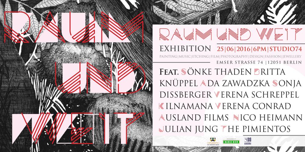 Raum und Weit - 48 Stunden Neukölln im Studio 74, Emser Straße 74, 12051 Berlin, 25. Juni 2016 ab 18h.