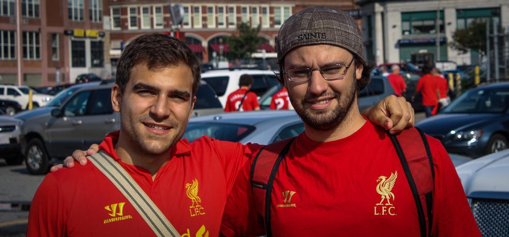 Liverpool vs Roma. Boston 2012.
