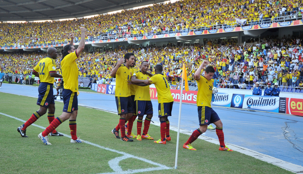 16 años: Colombia haven't been in the World Cup since 1998.