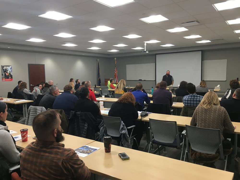 Educators from across the region gathered to learn more about careers in the skilled building trades unions at our Educator's Day