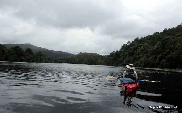 Paddling the Pieman River in Tasmania's Tarkine