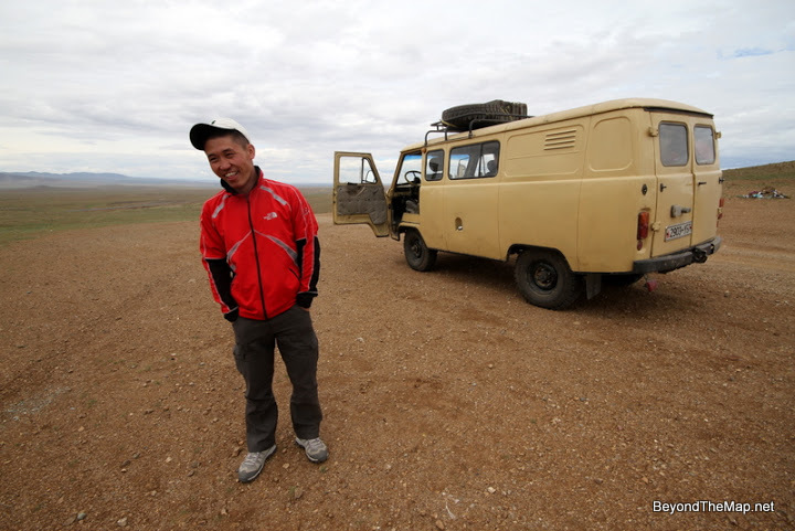 I spent two days roadtripping from UlaanBaatar to Moron with this man. We may have even stayed at his family home. Then we stayed at the same guest house. Do I remember his name?