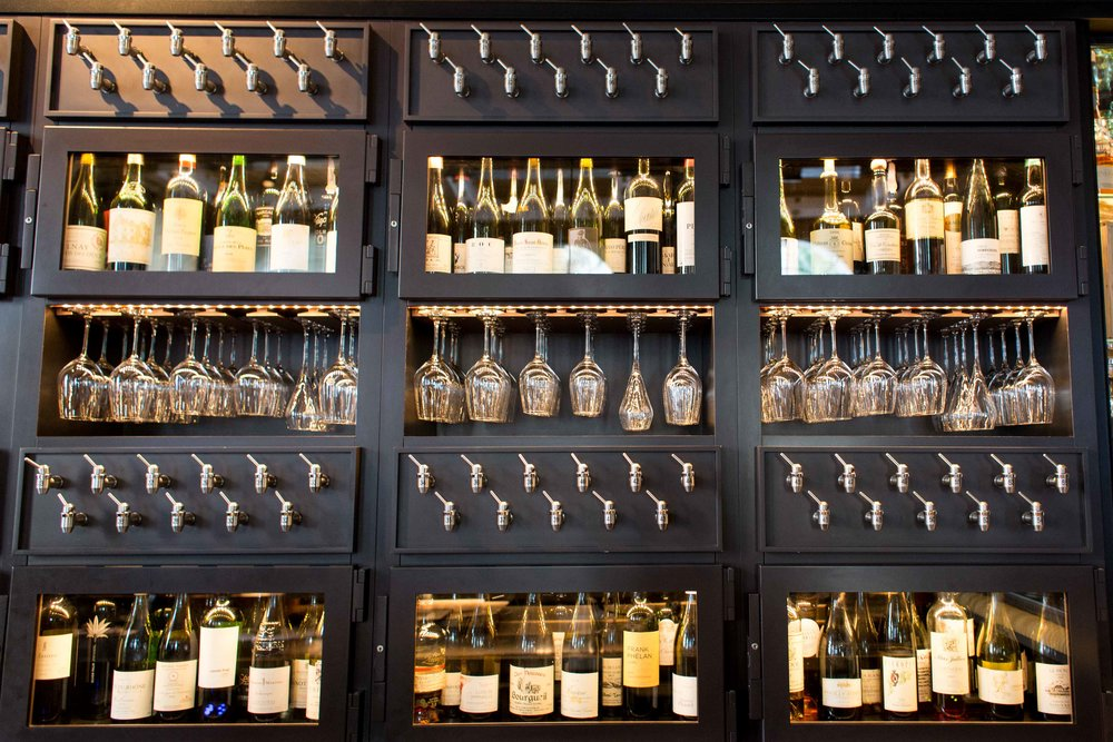 110 wines available by the glass