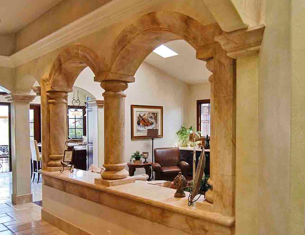 Italianate Hallway