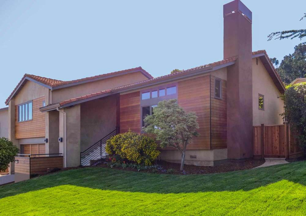 Belmont Modern Home - New Construction — General Contractor | Home ...