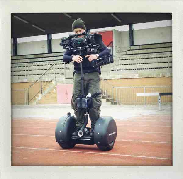 Segway with a small rig