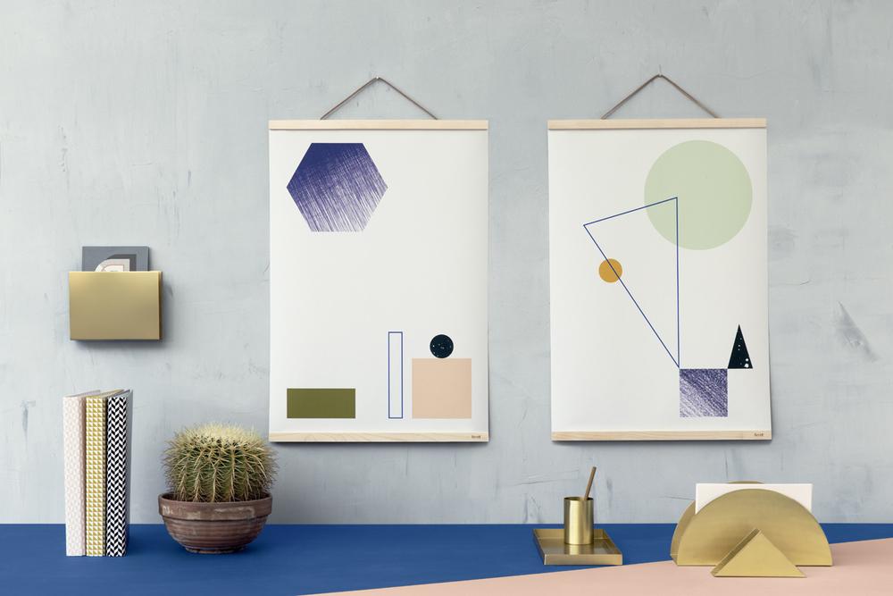 Ferm Living SS/2014. More geometric shapes. • baraperglova.com/blog