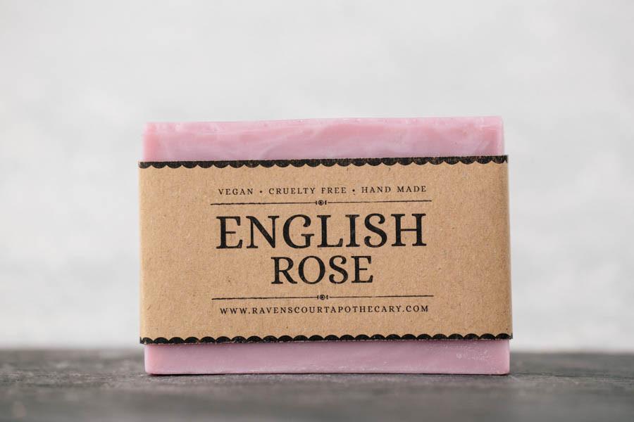 Veganské mýdlo Anglická růže | HNST.LY