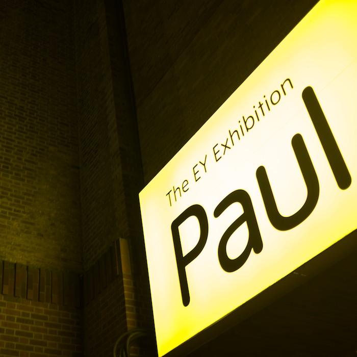enjoying a lovely paul -
