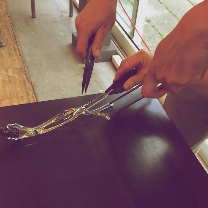 glass braiding..