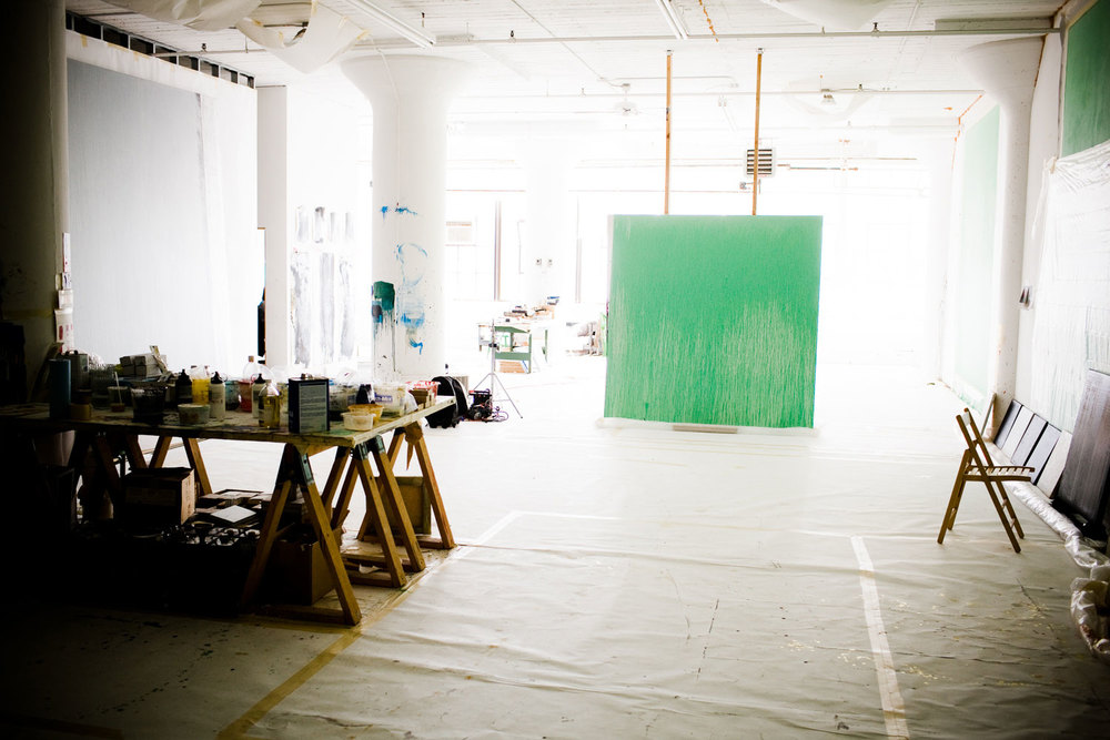 Pat Steir Studio