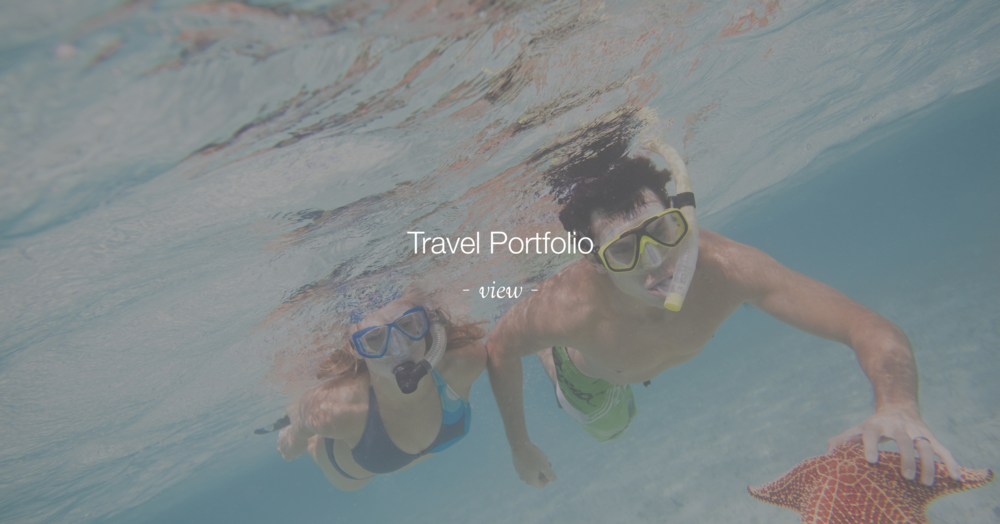 Click to Navigate to the Travel Portfolio