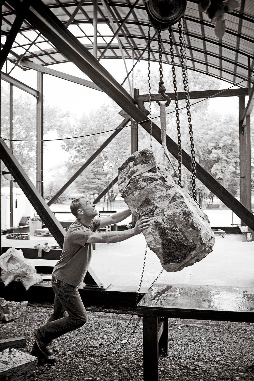 Lars Fisk, sculptor