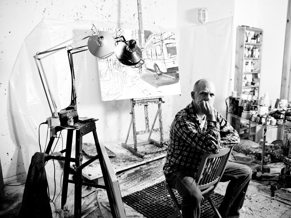 Tom Christopher, painter
