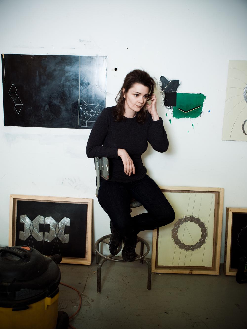 Elise Ferguson, artist