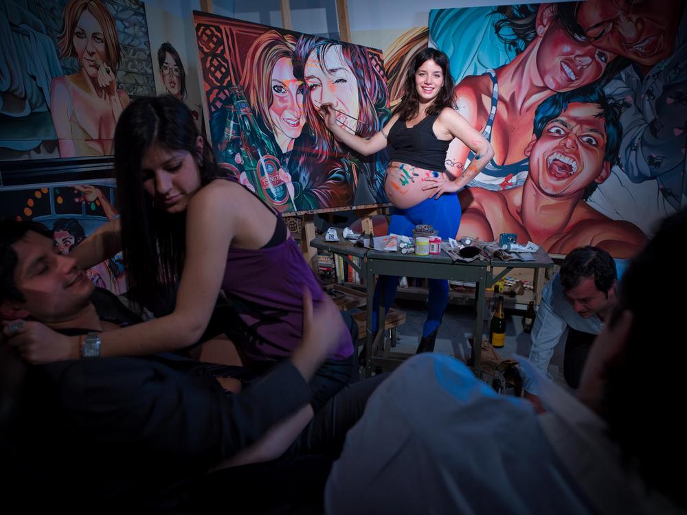 Leah Tinari, artist