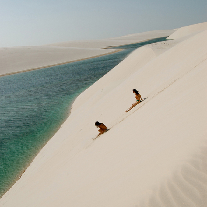 The Cool Hunter: Amazing places to experience around the Globe The Dunes of Lencois, Brazil